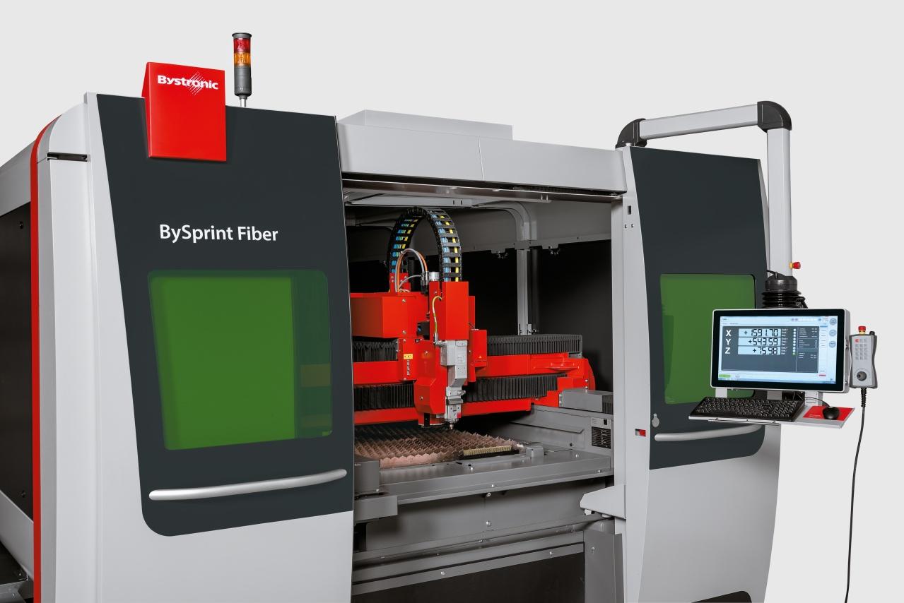 Faserlaseranlage BySprint Fiber 3015