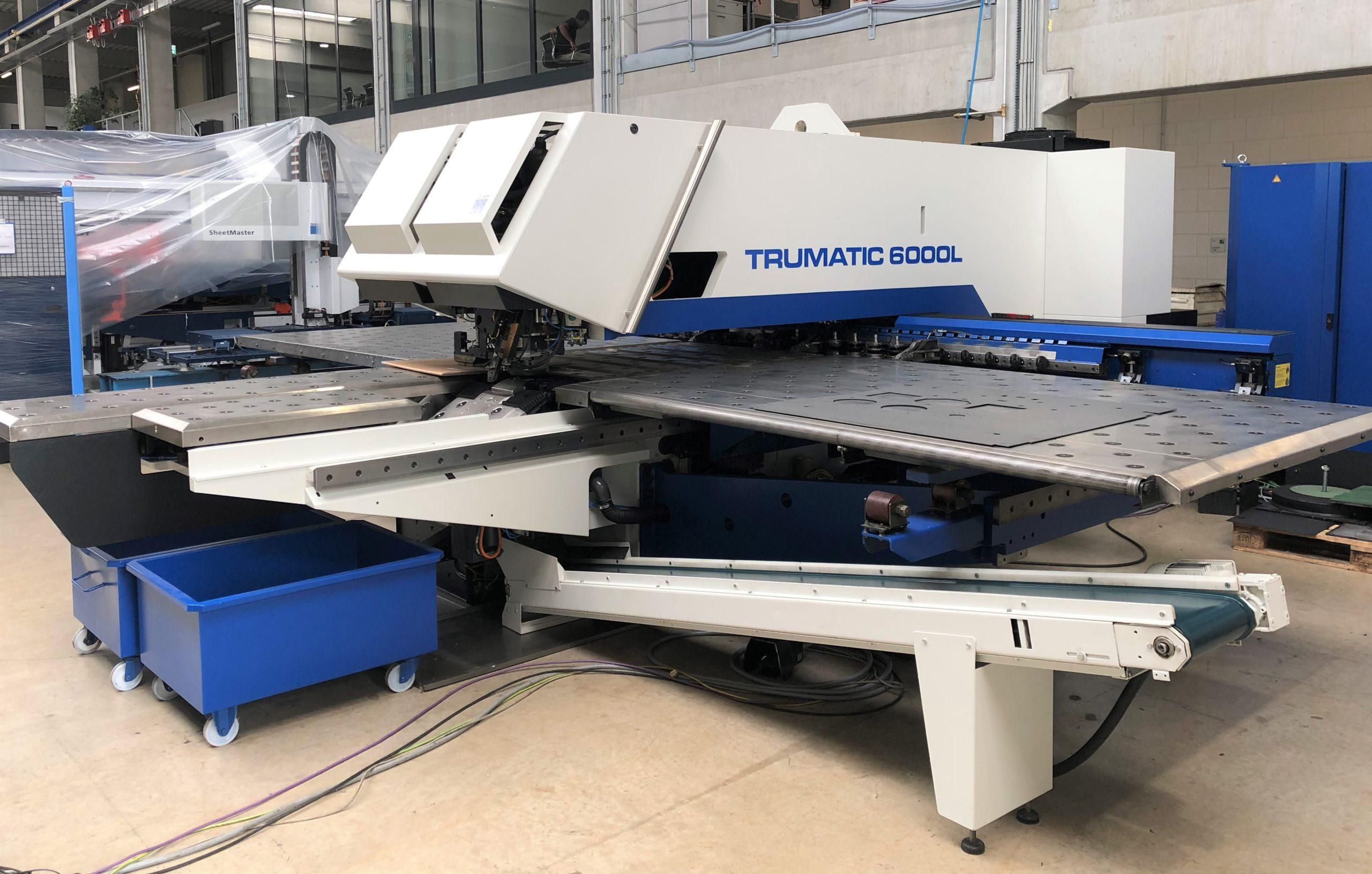 Stanz-Laser-Maschine: